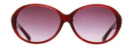 Fabula 3006 Red Oval Full Rim Sunglasses