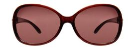 Fabula LSG 02 Brown Oval Full Rim Sunglasses For Women